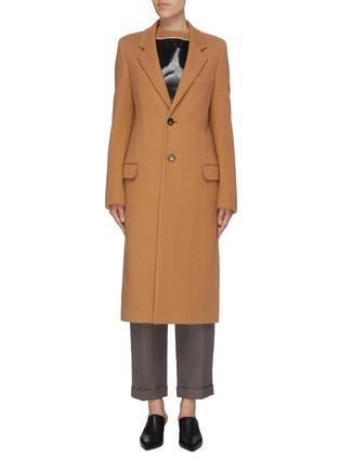 首图 - 点击放大 - BOTTEGA VENETA - 纯色羊毛大衣