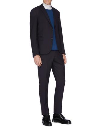 模特儿示范图 - 点击放大 - Bottega Veneta - 羊绒针织衫