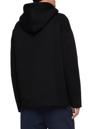 背面 - 点击放大 - Bottega Veneta - 混羊绒连帽卫衣