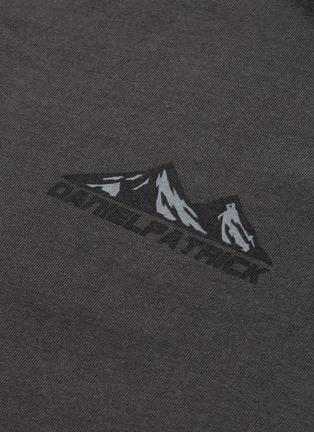 - Daniel Patrick - Moving Mountains山峦印花纯棉T恤