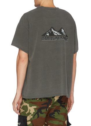 背面 - 点击放大 - Daniel Patrick - Moving Mountains山峦印花纯棉T恤