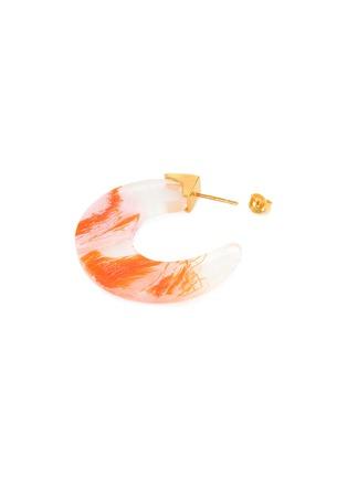 细节 - 点击放大 - Ejing Zhang - Tohil纱线树脂开口圆环耳环