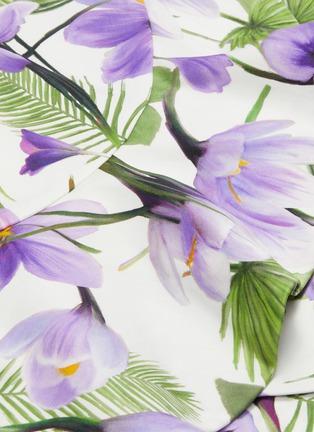 - alice + olivia - Kirby荷叶边花卉图案连衣裙