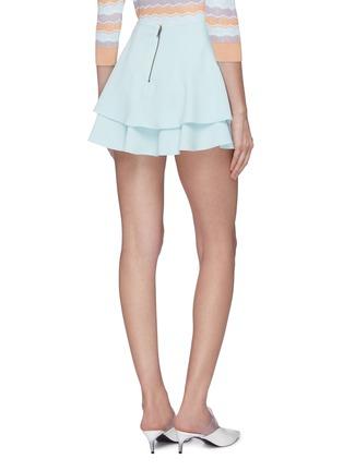背面 - 点击放大 - alice + olivia - Mave褶裥层叠设计半裙