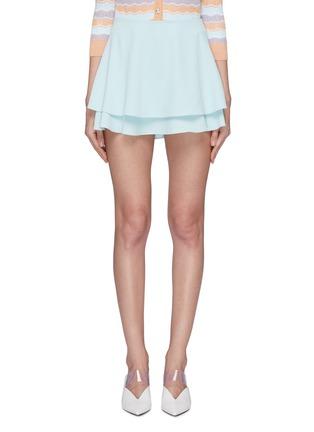 首图 - 点击放大 - alice + olivia - Mave褶裥层叠设计半裙