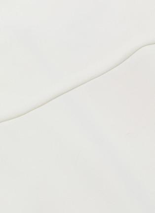 - alice + olivia - Adrina褶裥露背吊带连衣裙