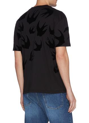 背面 - 点击放大 - McQ Alexander McQueen - 燕子图案纯棉T恤