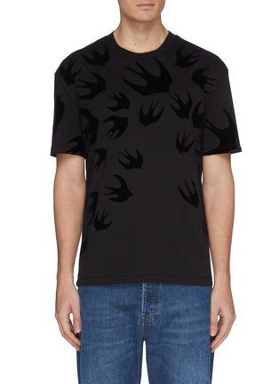 首图 - 点击放大 - McQ Alexander McQueen - 燕子图案纯棉T恤