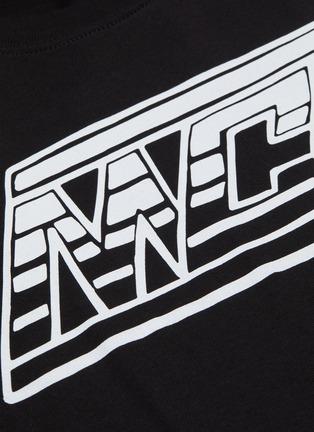 - McQ Alexander McQueen - logo印花纯棉T恤
