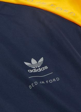- ADIDAS X BED J.W. FORD - Game拼色设计反光品牌logo条纹长袖T恤