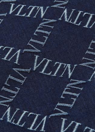 - Valentino - VLTN Grid格纹刺绣牛仔夹克