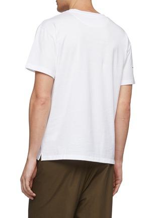 背面 - 点击放大 - Valentino - VLTN Macrogrid印花纯棉T恤