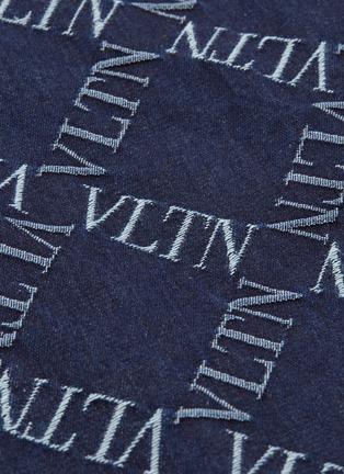 - VALENTINO - VLTN Grid格纹刺绣牛仔休闲裤