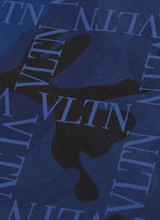 - Valentino - VLTN Grid格纹迷彩纯棉T恤