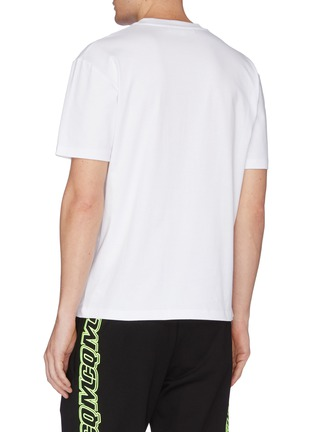 背面 - 点击放大 - McQ Alexander McQueen - 怪兽印花纯棉T恤