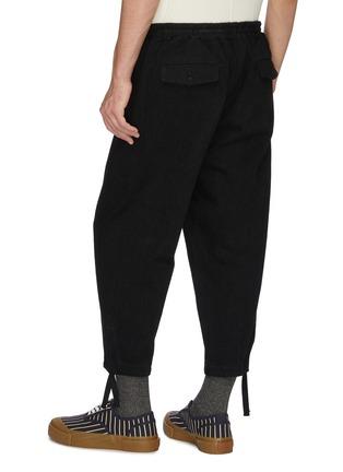 背面 - 点击放大 - KURO - 低裆阔腿牛仔裤
