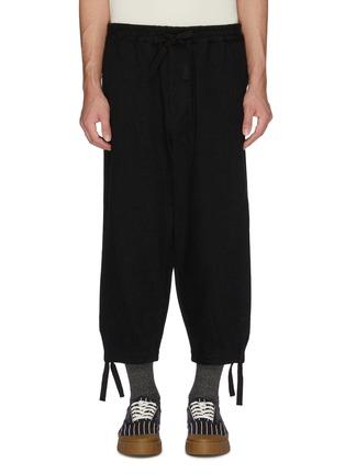 首图 - 点击放大 - KURO - 低裆阔腿牛仔裤