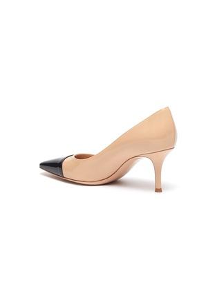 - GIANVITO ROSSI - Lucy拼色漆皮高跟鞋