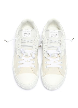 细节 - 点击放大 - Maison Margiela - Evolution拼接设计运动鞋