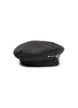 模特儿示范图 - 点击放大 - Maison Michel - Nolan拉链设计贝雷帽