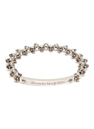 首图 - 点击放大 - Alexander McQueen - 骷髅头做旧感黄铜手链