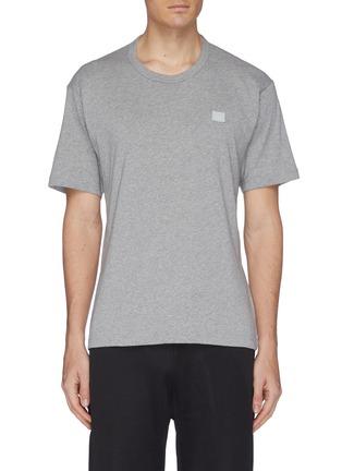 首图 - 点击放大 - Acne Studios - Nash Face表情徽章纯棉T恤