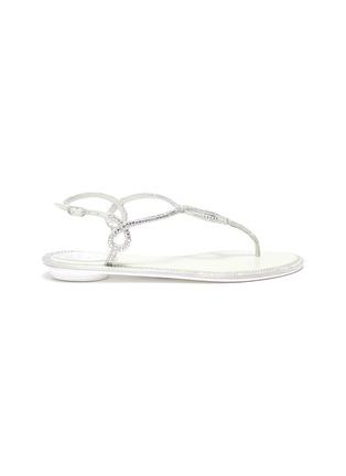 首图 - 点击放大 - RENÉ CAOVILLA - 仿水晶搭带夹脚凉鞋