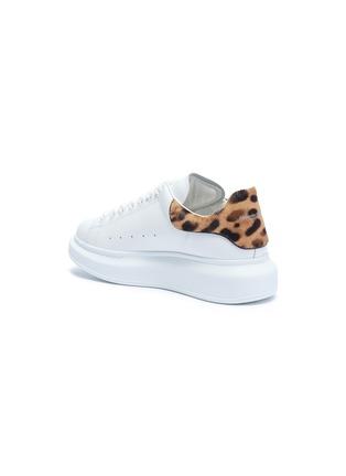- Alexander McQueen - Oversized Sneaker豹纹小马毛拼贴小牛皮运动鞋
