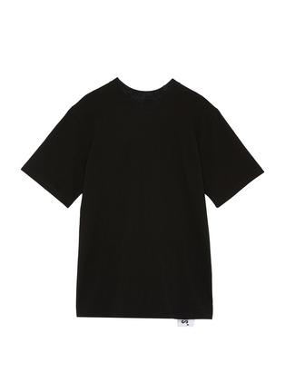 模特儿示范图 - 点击放大 - STUDIO CONCRETE - SERIES 1 TO 10中性款心情数字纯棉T恤
