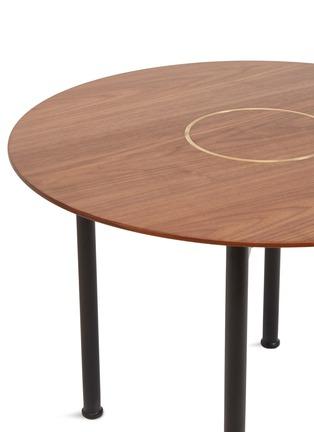 细节 –点击放大 - Stellar Works - x Tom Fereday Crawford核桃木转盘咖啡桌