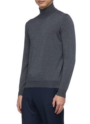 正面 -点击放大 - LARDINI - 立领羊毛针织衫
