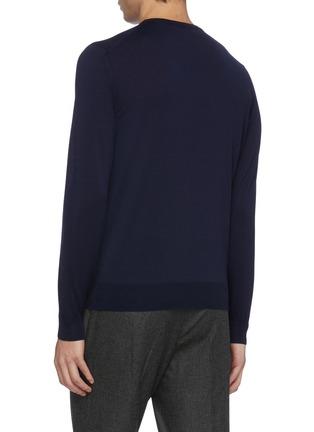 背面 - 点击放大 - LARDINI - 羊毛针织衫