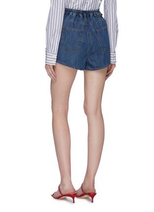背面 - 点击放大 - C/MEO COLLECTIVE  - Process折叠设计纯棉牛仔短裤