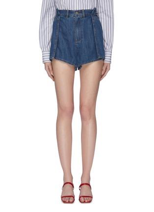 首图 - 点击放大 - C/MEO COLLECTIVE  - Process折叠设计纯棉牛仔短裤