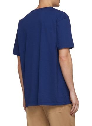 背面 - 点击放大 - Gucci - 拼色双G标志纯棉T恤