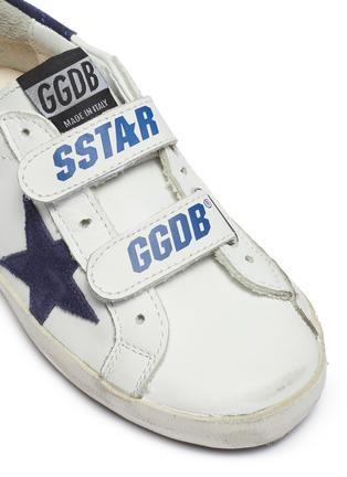 细节 - 点击放大 - Golden Goose - Old School幼儿款魔术贴搭带做旧感运动鞋