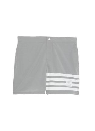 首图 - 点击放大 - THOM BROWNE - 四重条纹游泳短裤