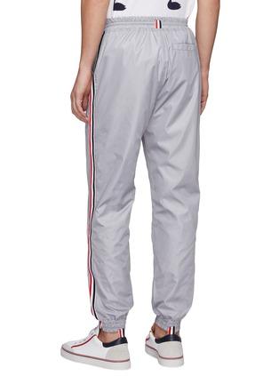 背面 - 点击放大 - Thom Browne - 三色条纹布饰抽绳休闲裤