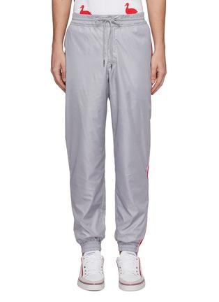 首图 - 点击放大 - Thom Browne - 三色条纹布饰抽绳休闲裤