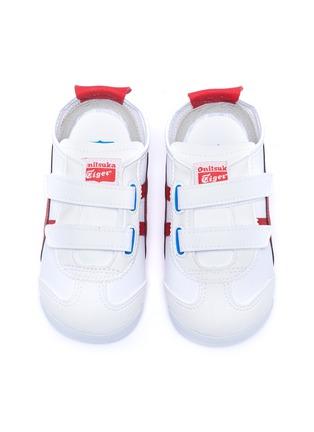 模特儿示范图 - 点击放大 - ONITSUKA TIGER - Mexico 66 Baja幼儿款拼色标志运动鞋