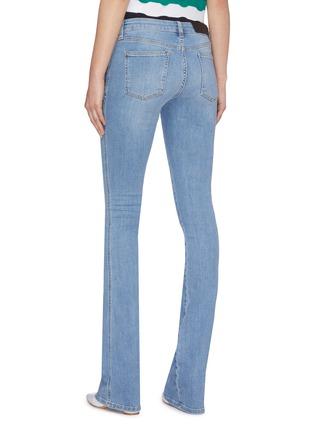 背面 - 点击放大 - VICTORIA, VICTORIA BECKHAM - 微喇叭裤脚口钮扣修身牛仔裤