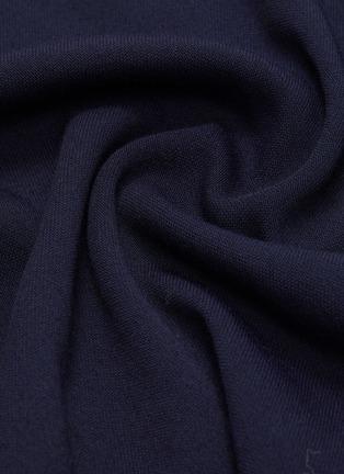- Ms MIN - 落肩袖高领针织衫