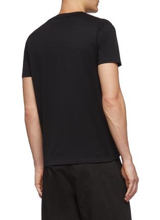 背面 - 点击放大 - Alexander McQueen - Naïve Skull骷髅头刺绣纯棉T恤