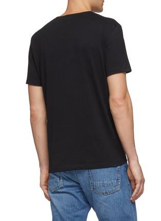 背面 - 点击放大 - Alexander McQueen - 瓢虫骷髅头印花纯棉T恤