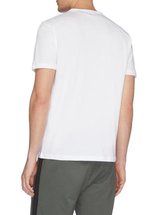 背面 - 点击放大 - Theory - 几何条纹纯棉T恤