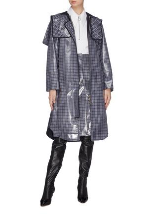 模特儿示范图 - 点击放大 - Cédric Charlier - 波点混羊毛上衣