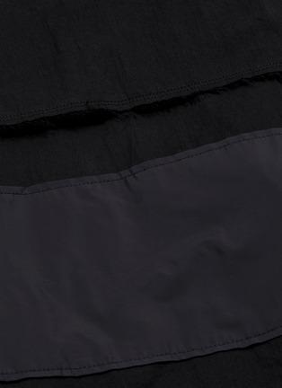 - INDICE STUDIO - 翻盖口袋混棉连帽衬衫
