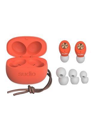 - SUDIO - Tolv入耳式无线蓝牙耳机-珊瑚橙色