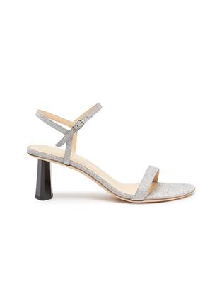 首图 - 点击放大 - BY FAR - Magnolia搭带闪粉真皮高跟凉鞋