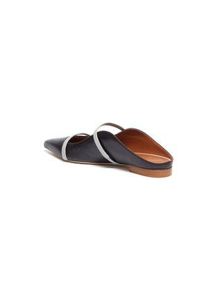 - MALONE SOULIERS - Maureen拼色双重搭带真皮拖鞋